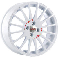 OZ Racing Superturismo WRC White Red Lettering